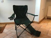 Folding camping/garden chair