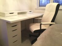 Complete Home Office Station Desk & Chair
