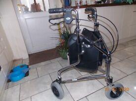 3 wheel walker