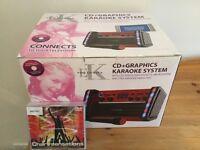 Easy Karaoke CD & Graphics Karaoke System