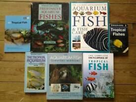 Tropical fish keeping books