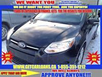 2013 Ford Focus Hatchback* $55 WEEKLY WITH NO DOWNPAYMENT!