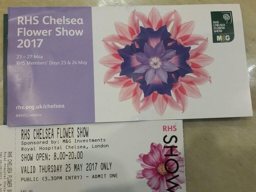 Chelsea flower show 2017 corporate entertainment packages - Chelsea Flower Show Hospitality Corporate Packages Tickets