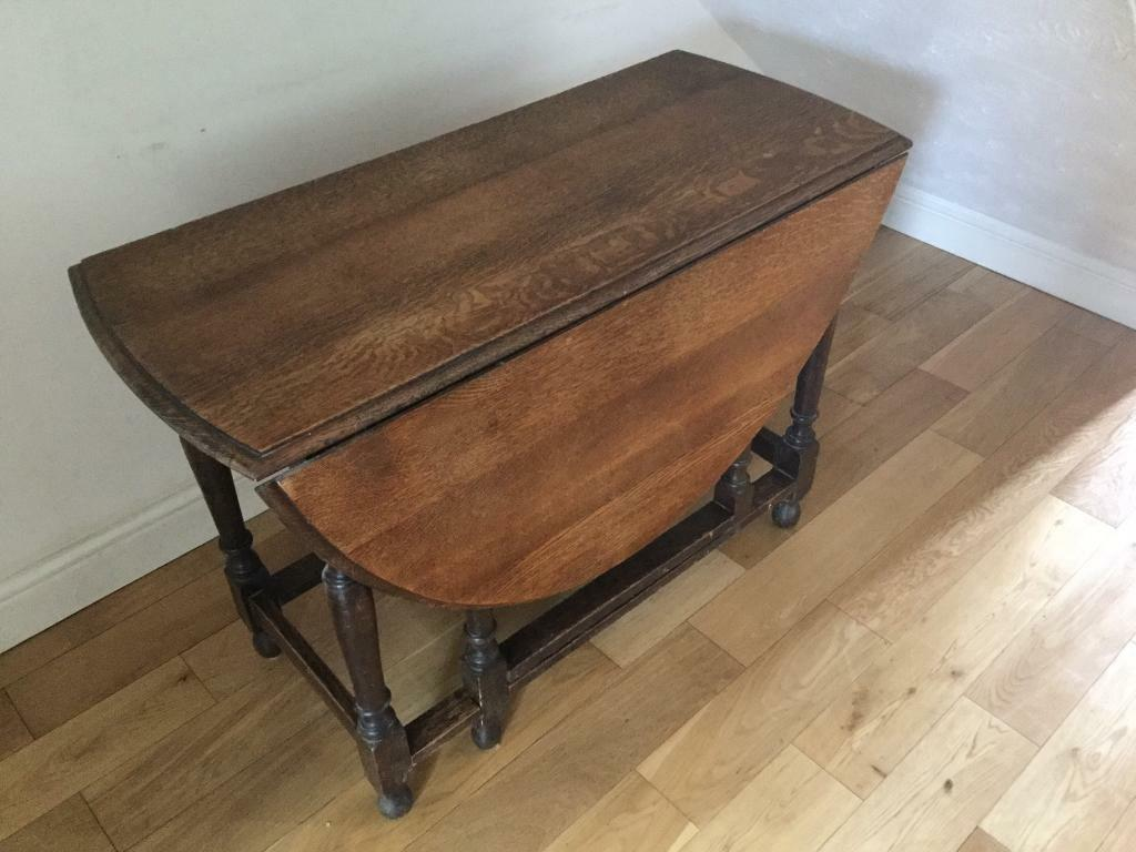 Drop Leaf Table With Heat Protector