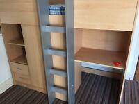 Children cabin bed
