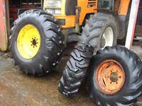 digger wheels tyres