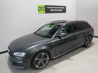 Audi A4 Avant 2.0TDI S-Line Black Edition BUY FOR ONLY £35 A WEEK ON FINANCE