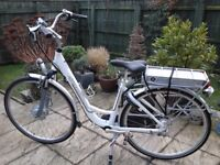 schwinn tailwind hybrid pedal /electric bicycle needs new battery