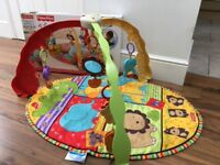 FISHER PRICE BABY MUSICAL ACTIVITY PLAY MAT GYM