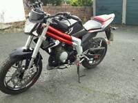 2014 rieju rs3 50 cc moped