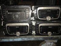 Car radio x 4 Sony Ford DAB MP3 cd changer