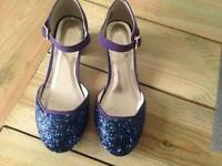 Monsoon girls shoes size 3 like new