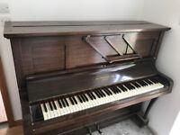 John Strohmenger upright piano