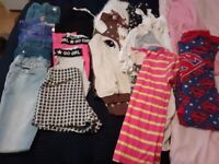 Bundle of girls clothes age 8 - 9 years