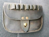 Ww1 1917 leather ammo pouch in great condition