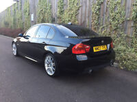 BMW + 3.0 330D M SPORT + AUTOMATIC + BLACK + LCI + 4 DR SALOON + SATNAV 335 REP