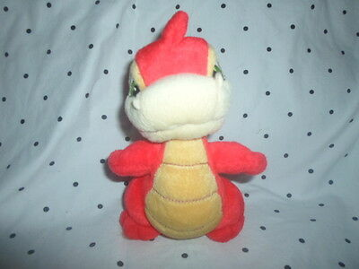 Neopets Red Scorchio Winged Dragon 9  Plush Soft Toy Stuffed Animal