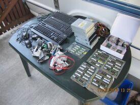 job lot of computer parts, ( ram, processors, ect )