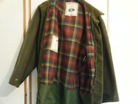 MARKS & SPENCER Country Collection Mens Wax Jacket & Padded Gilet. Sz L