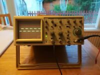 Goldstar 9020P 20MHZ dual channel oscilloscope