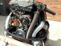 Classic Beetle Twin Port 1600cc turnkey engine, complete ready to bolt in