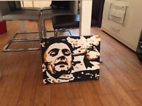 one off oil painting on canvas off the taxi driver