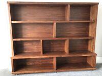 Beautiful Walnut TV unit and shelf unit