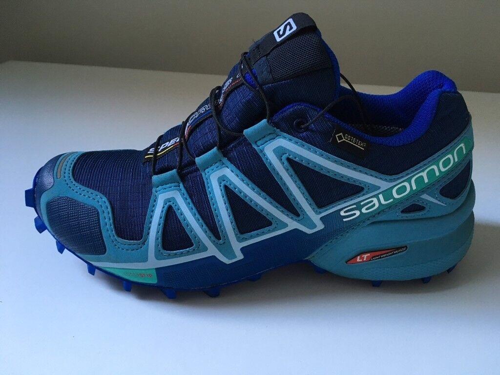Salomon Speedcross 4 GORE-TEX Trail Running Shoe (Women's) 3lXDnpexB8