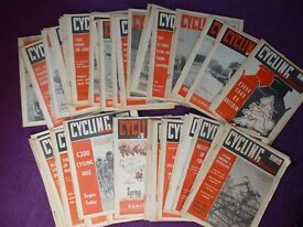 VINTAGE CYCLING MAGAZINES 1960,s