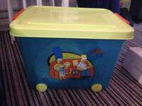 Simpsons Storage Box