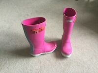 Girls Hunter wellies size 1