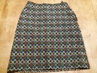 Unique printed skirt