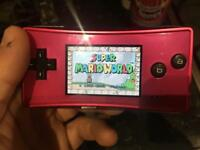 Gameboy micro very rare and 4 great games