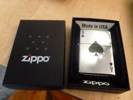 Three Zippo Lighters New