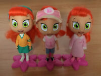 Vintage Atomic Betty Trio dolls clothes accessories