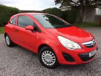 VAUXHALL CORSA 1.0 ECOFLEX 2012 LOW MILES 42000 FSH 5 STAMPS £25 PER YEAR TAX 2 KEEPERS 1 YEAR MOT