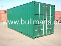 Chemical storage shipping container, bunded shipping container / steel floor container – 20ft