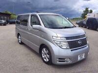Nissan Elgrand - luxury 8 seater minibus