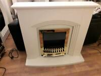 Brand new electric fire and surround