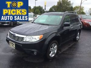 2010 Subaru Forester X LIMITED, AWD, LEATHER, SUNROOF, ALLOYS, L