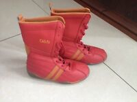 Boots for your girl size eu 28 red , winter