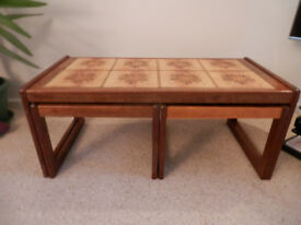 TILE TOP COFFEE TABLES