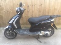 Piaggio fly 125cc 2012 scooter moped