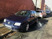 VW BORA - 51 PLATE - MOT EXPIRING THIS WEEK - VERY RELIABLE