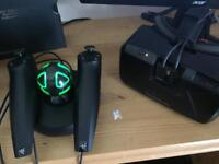 Oculus Rift DK2 + Razer Hydra WORKS AS A HTC VIVE— OPEN TO SENSIBLE OFFERS!!!
