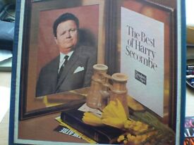 The Best of Harry Secombe boxed vinyl record set.