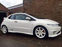 Honda Civic Type R GT Championship White Edition