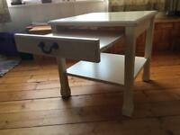 Bedside table Gplan white