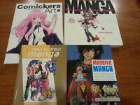 """Manga """"how to draw"""" books"""