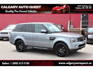 2013 Land Rover Range Rover Sport HSE 4WD/NAVI/B.CAM/LEATHER/ROO